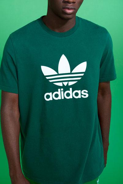 adidas Originals adicolor 2018 - Green T-Shirt (Men)