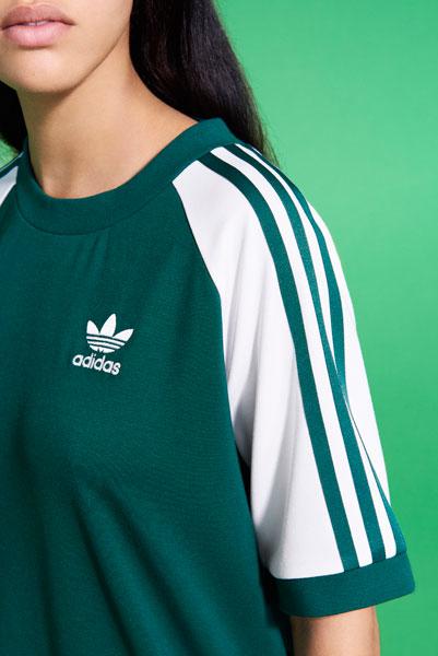 adidas Originals adicolor 2018 - Green T-Shirt (Women)