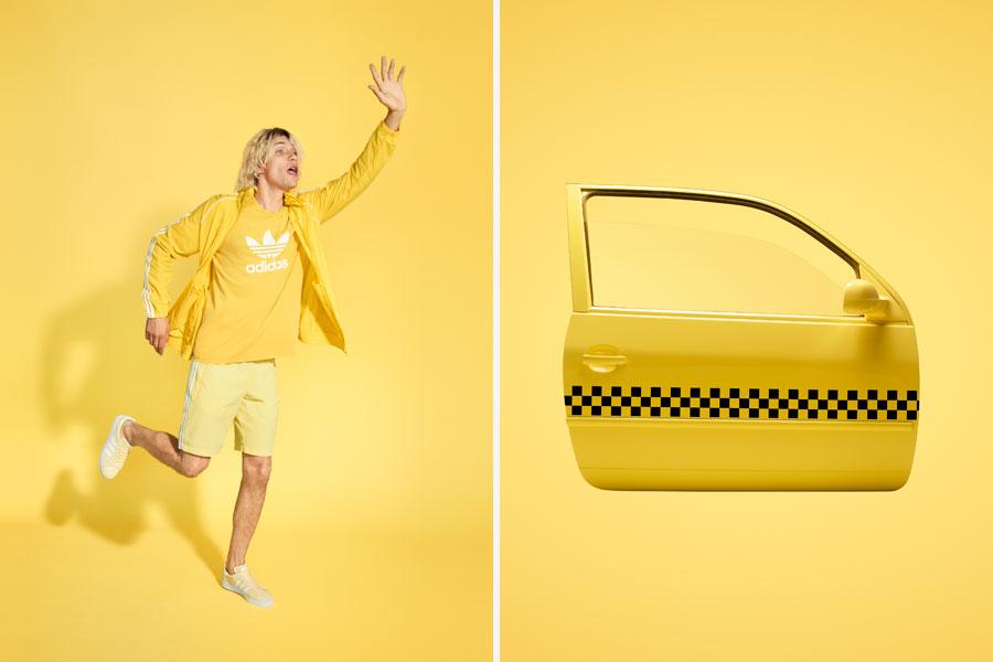 adidas Originals adicolor 2018 - Yellow (Men)