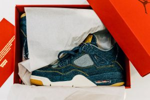 Best Sneaker in January 2018 - Levis x Nike Air Jordan 4 Denim