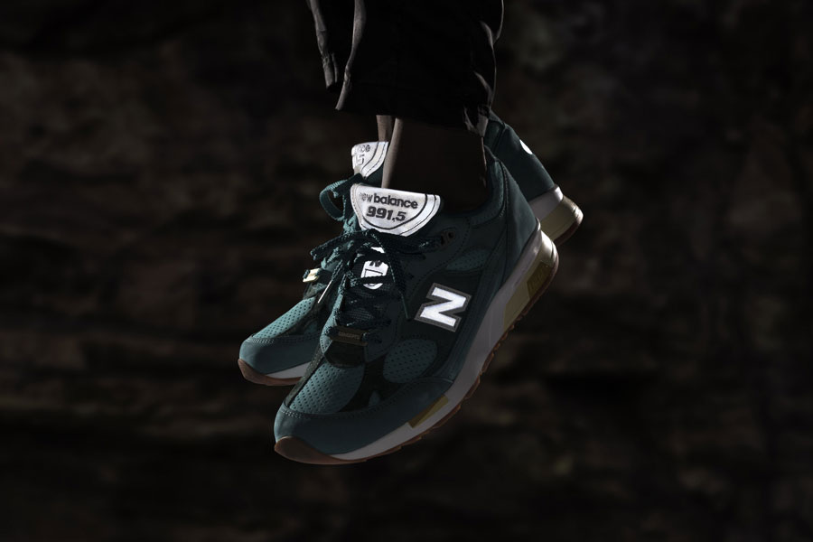 CONCEPTS x New Balance 991.5 Lake Havasu - On feet (Reflective)