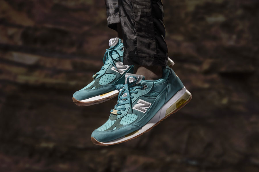 CONCEPTS x New Balance 991.5 Lake Havasu - On feet
