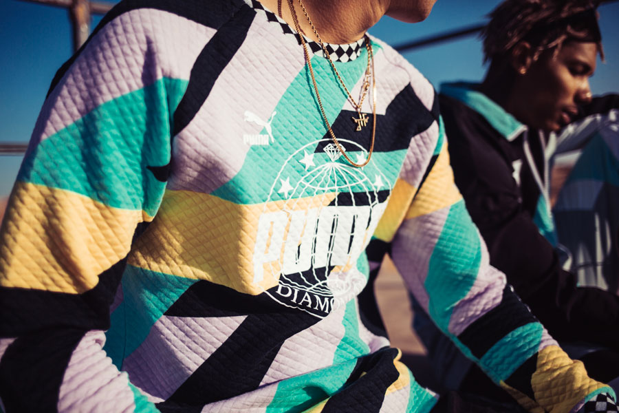 Diamond Supply Co. x PUMA Spring Summer 18 Collection - Longsleeve Top