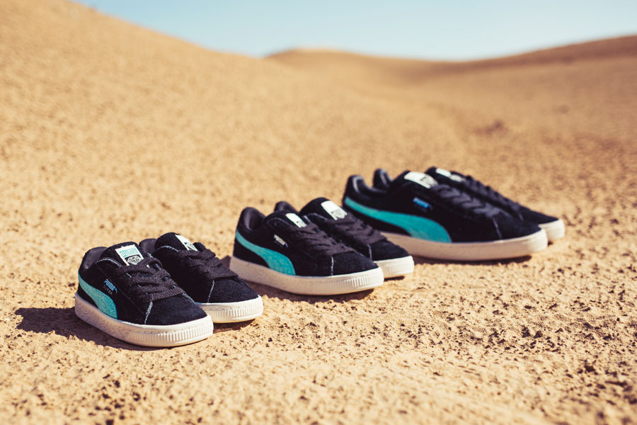 Diamond Supply Co. x PUMA Spring Summer 18 Collection - Suede