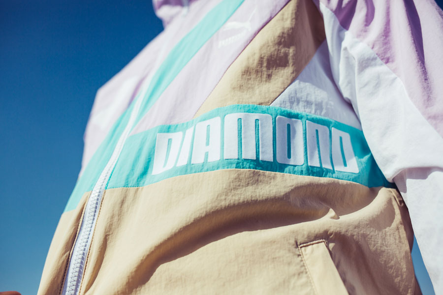 Diamond Supply Co. x PUMA Spring Summer 18 Collection - Track Jacket (Logo)