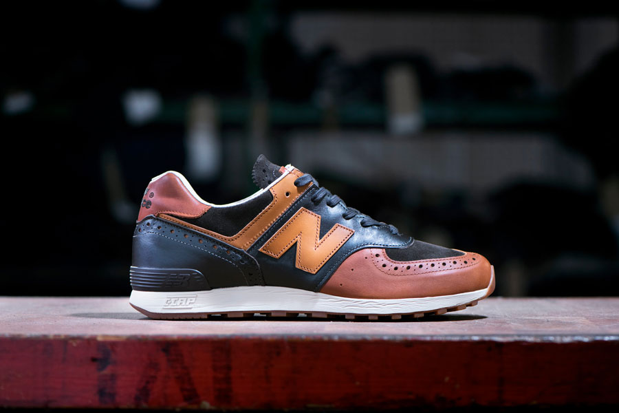 Grenson x New Balance 576 Phase Two - M576GSN (Side)