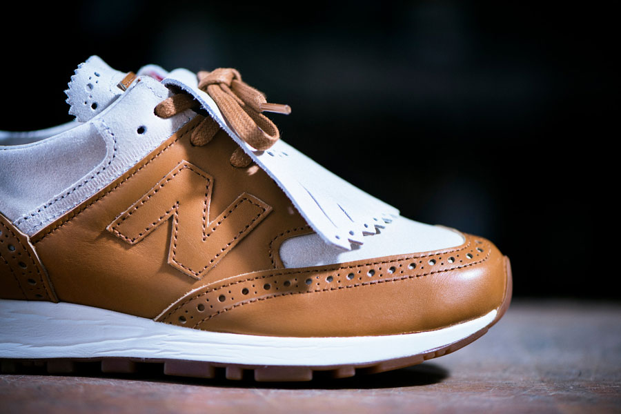 Grenson x New Balance 576 Phase Two - W576GTW (Side)
