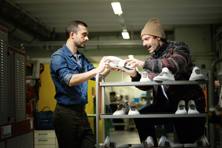 Hummel & Hummel Sneakers Made In Germany - Jörg Rohwer-Kahlmann & Andreas Klingseisen