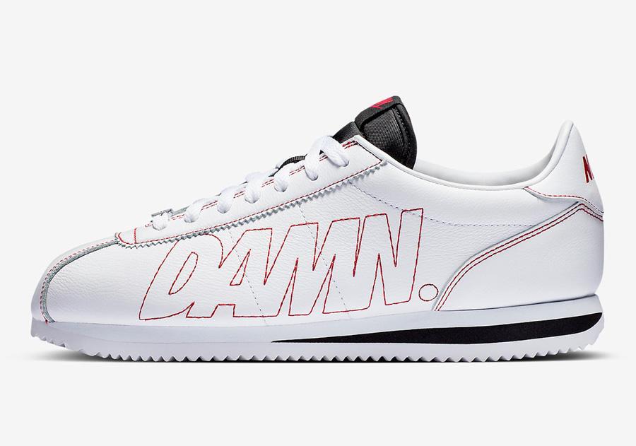 Kendrick Lamar x Nike Cortez Kenny 1 (AV8255-106) - Left