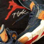 Levis x Nike Air Jordan 4 Denim Pack - Sole