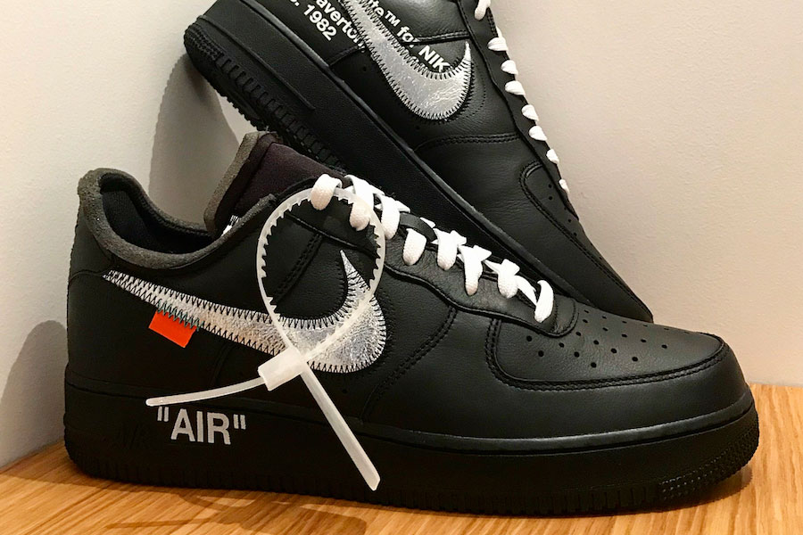 cáscara Pantalones sustantivo  MoMA x OFF-WHITE x Nike Air Force 1 '07 | Sneakers Magazine