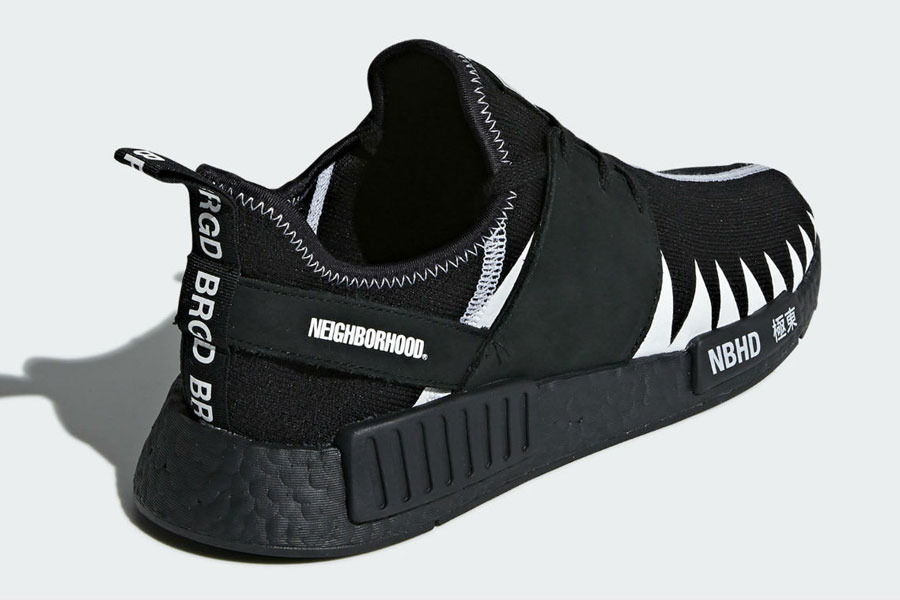 NEIGHBORHOOD x adidas NMD R1 - Back