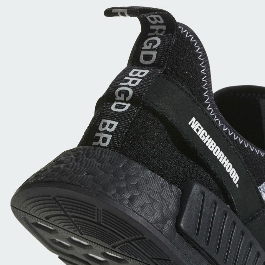 NEIGHBORHOOD x adidas NMD R1 - Heel