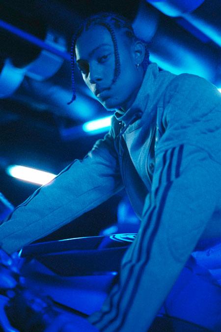 NEIGHBORHOOD x adidas Originals - Riders Track Jacket