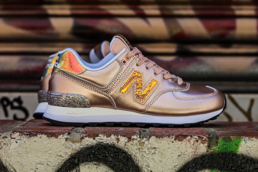 New Balance 574 Glitter Punk Pack - WL574NRG (Side)