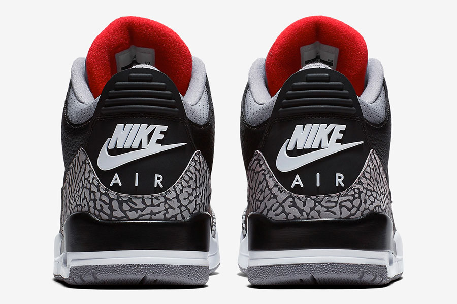 "5ea79bfc4f23 Offical Images of 2018 s Air Jordan 3 ""Black Cement"""