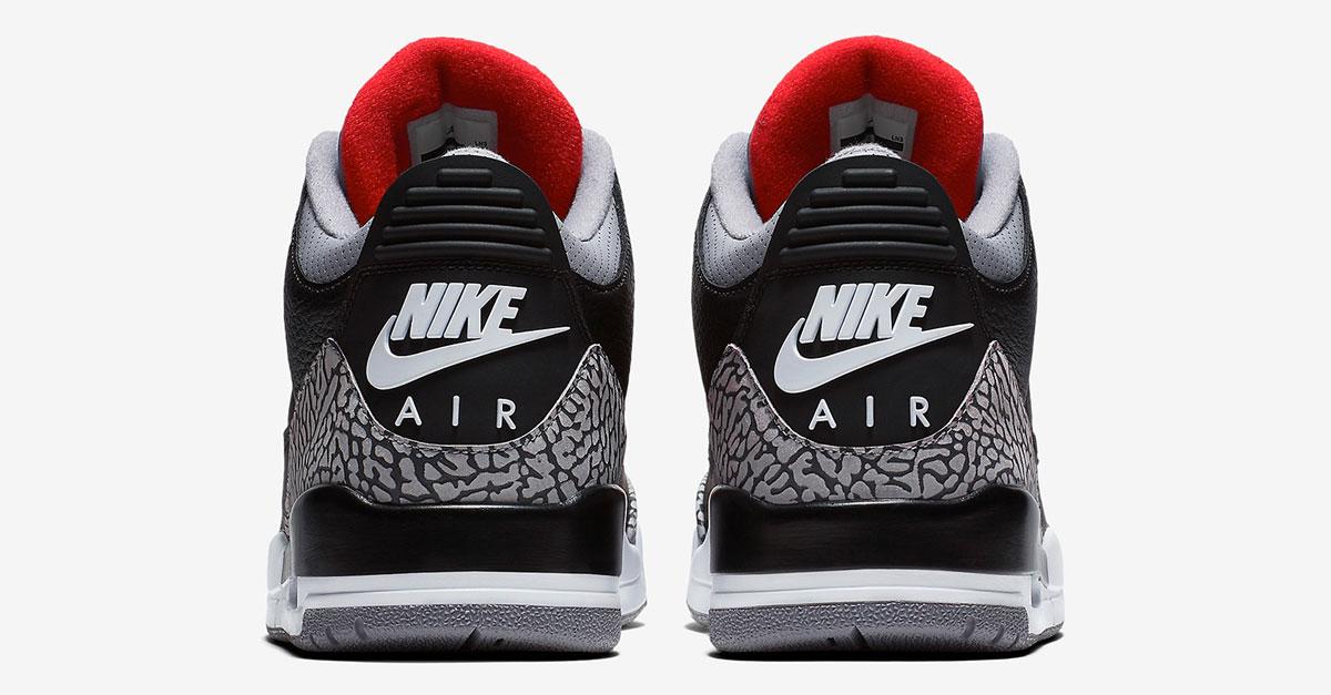 best service 15018 92742 Nike Air Jordan 3 Retro Black Cement (854262-001)   Sneakers Magazine