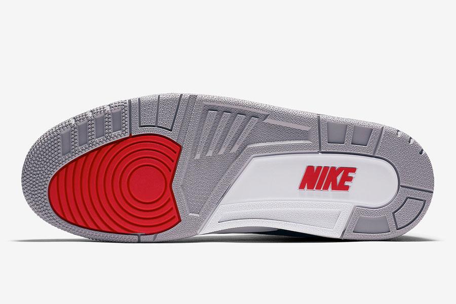 Nike Air Jordan 3 Retro Black Cement 2018 (854262-001) - Sole