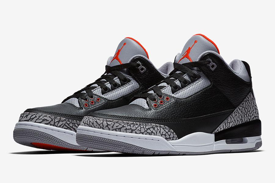 Nike Air Jordan 3 Retro Black Cement 2018 (854262-001)
