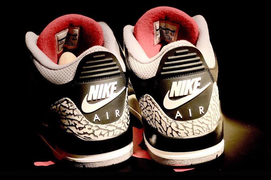 Nike Air Jordan 3 Retro Black Cement (854262-001) - Back