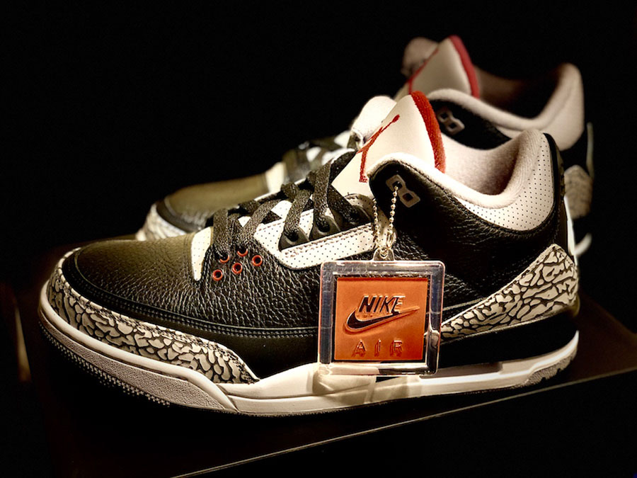 Nike Air Jordan 3 Retro Black Cement (854262-001) - Side