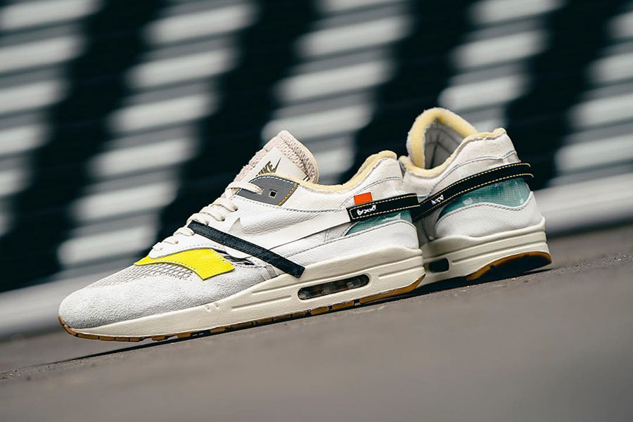 quality design 4ef4a 89cd7 Nike Air Max 1 OFF-WHITE Custom (Bespoke IND) | Sneakers Magazine