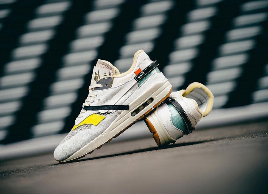 Nike Air Max 1 OFF WHITE Custom (Bespoke IND) | Sneakers
