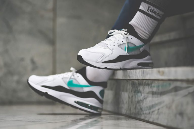 Nike Air Max 93 OG Dusty Cactus (306551-107) - On feet