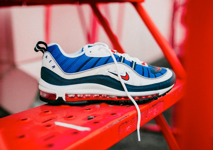 Nike Air Max 98 Gundam (640744-100) - Right