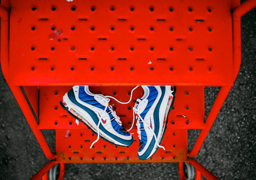 Nike Air Max 98 Gundam (640744-100) - Side