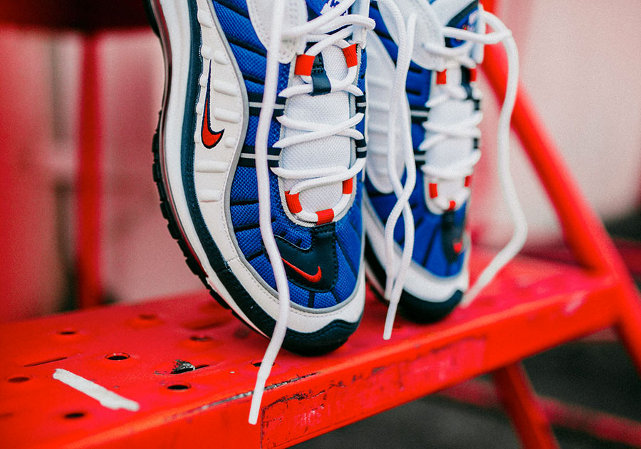 Nike Air Max 98 Gundam (640744-100) - Toebox