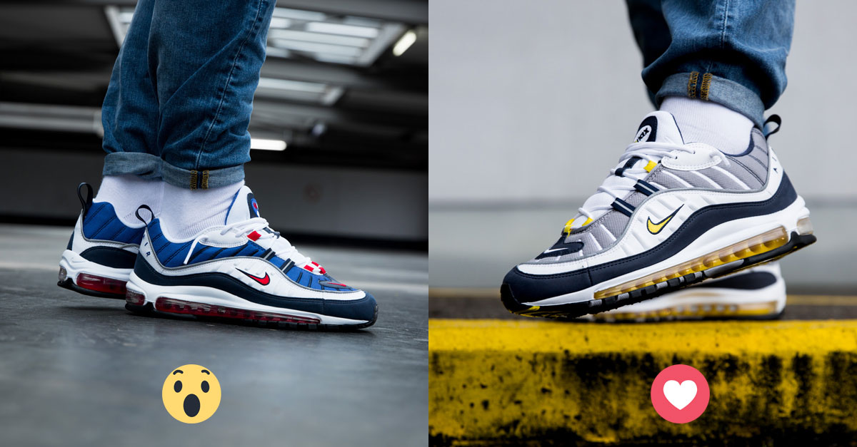 958a3c31fcc Nike Air Max 98 2018 (Gundam   Tour Yellow)