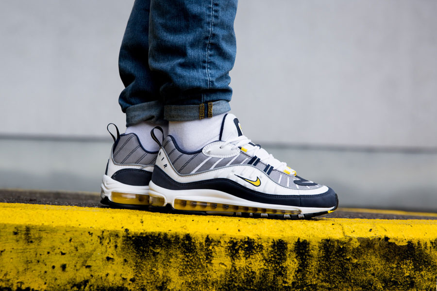 Nike Air Max 98 2018 Releases - Tour Yellow 640744-105 (Side)
