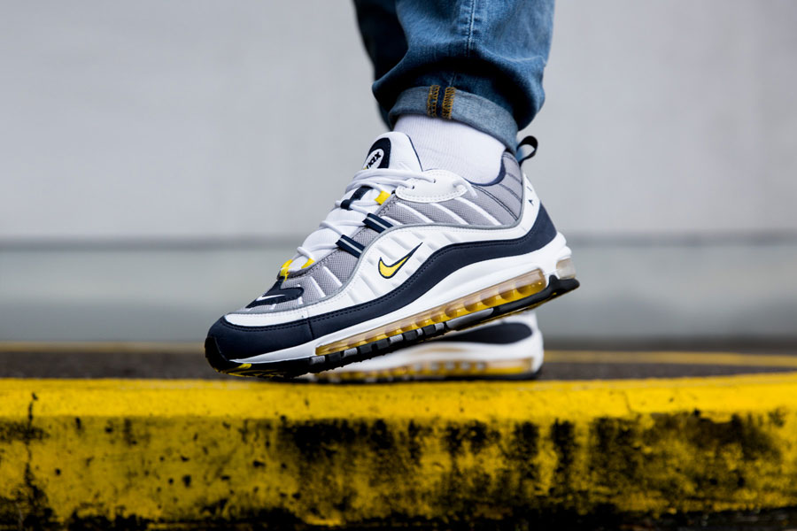 3eab8267c3a5 Nike Air Max 98 2018 Releases - Tour Yellow 640744-105
