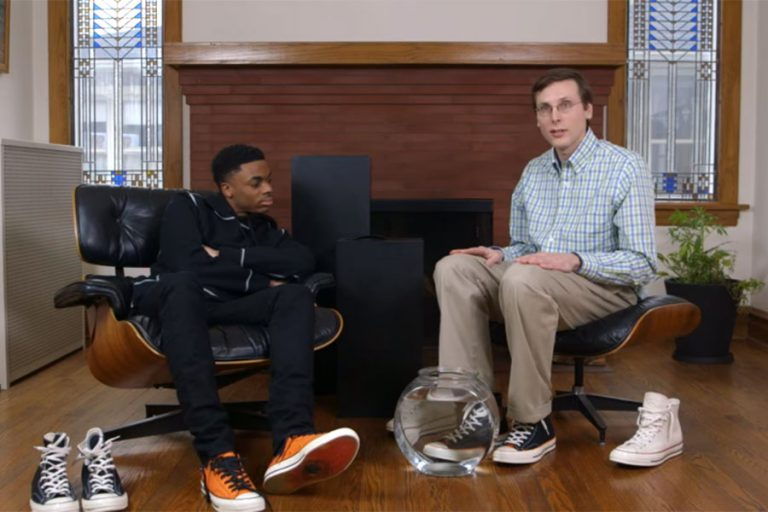 Vince Staples x Converse Big Fish Theory - Brad Hall