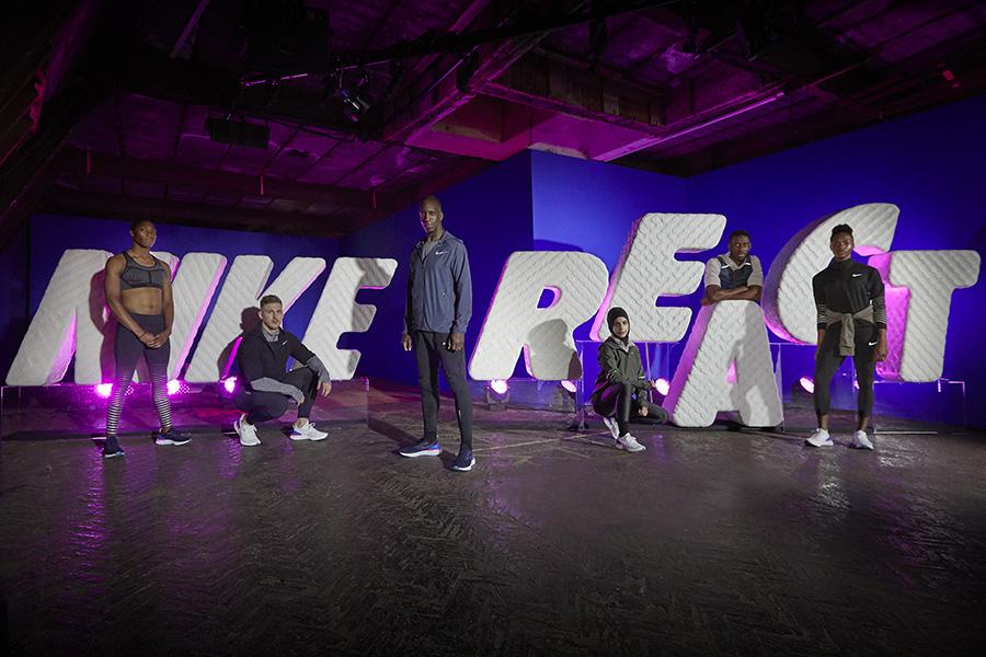 Nike Epic React Flyknit - Athletes