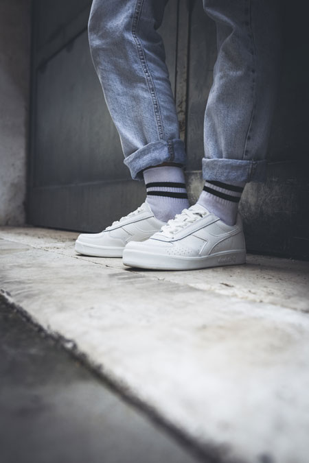 5 Facts About the Diadora B Elite - White (On feet)