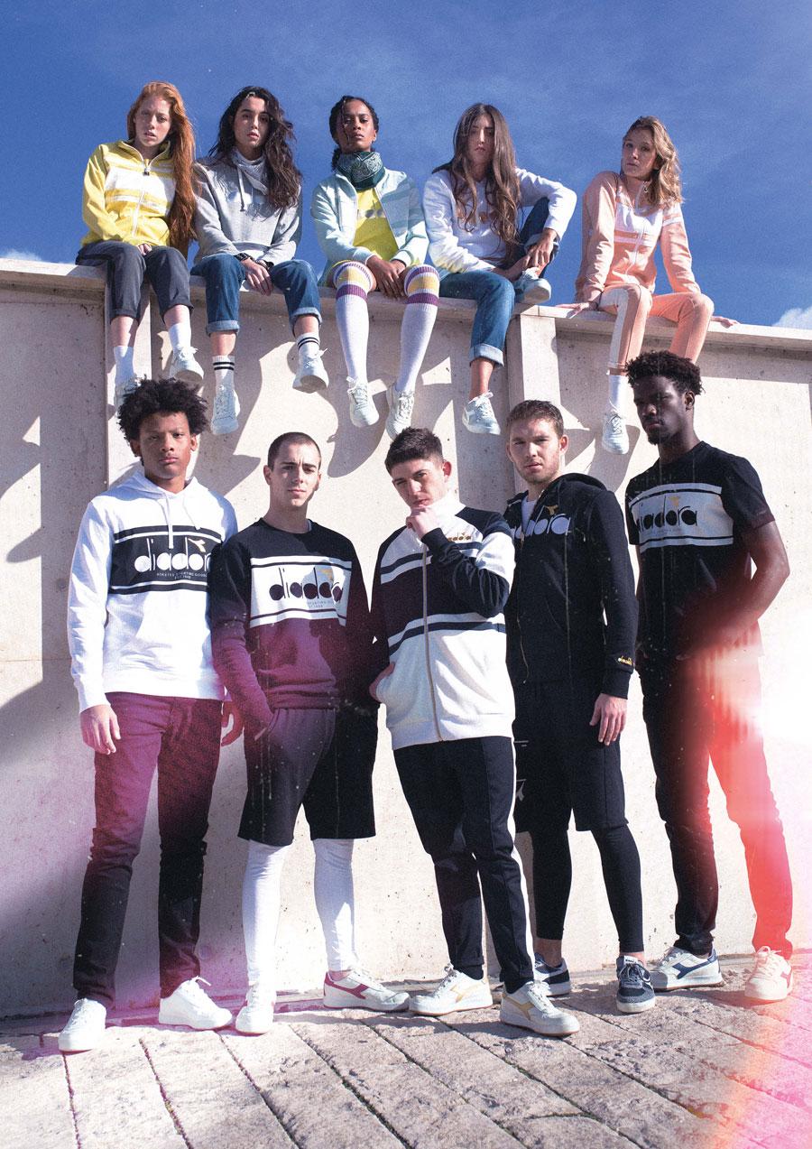 Diadora SS18 Sportswear Collection