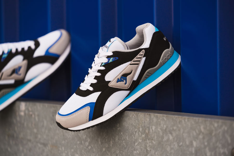 KangaROOS 2018 Spring Summer Collection - RUNNER OG (Black Blue)