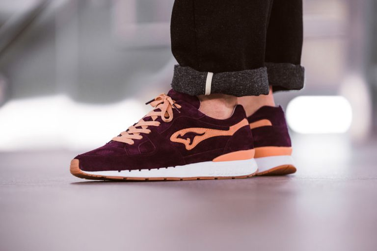 KangaROOS Coil R1 Shiraz Made in Germany - On feet (Side)