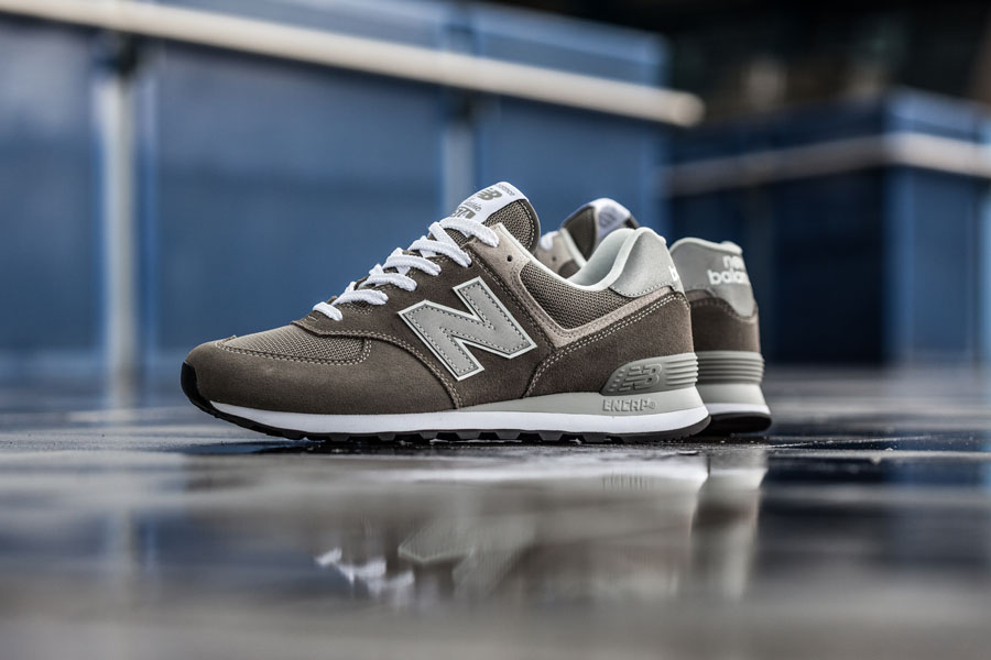 New Balance 574 Classic Grey ML574EGG - Side