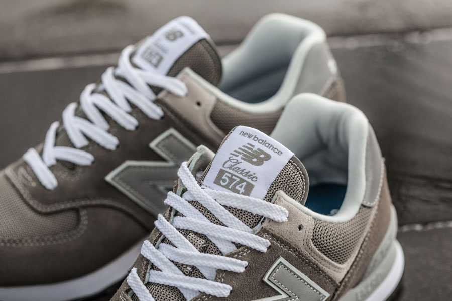 New Balance 574 Classic Grey ML574EGG - Tongue