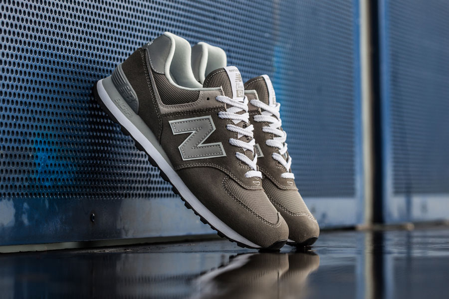 new product a90ec 5b9fe New Balance 574 Classic Grey | Sneakers Magazine