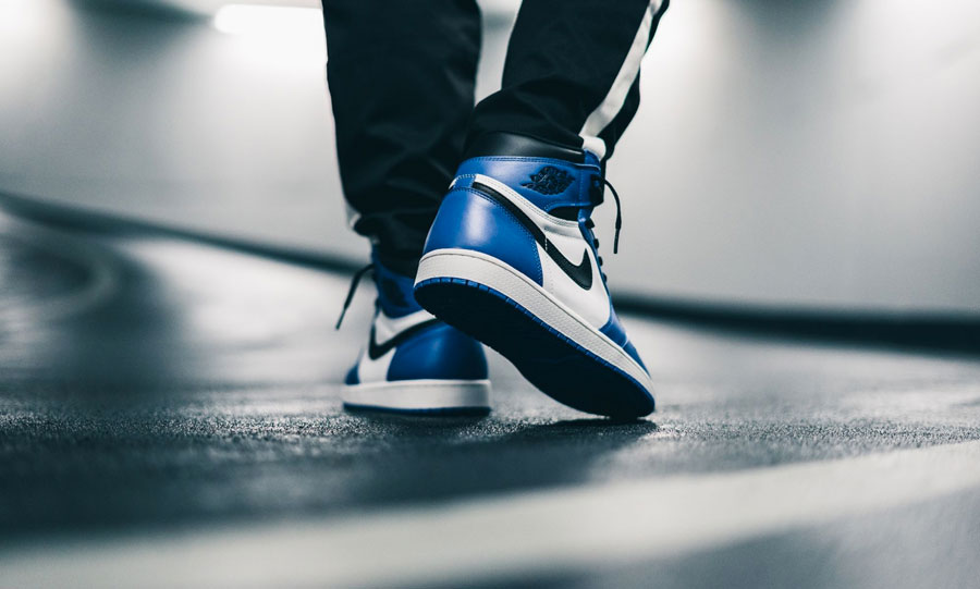 Nike Air Jordan 1 Retro High OG Game Royal (555088-403) - Back
