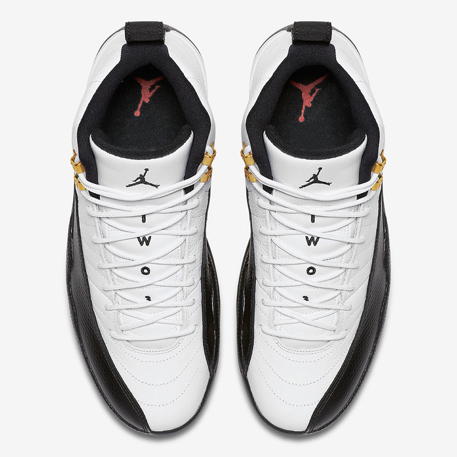 Nike Air Jordan 12 Taxi 2018 Retro (130690-125) - Top