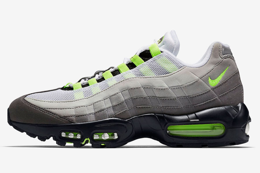 The Nike Air Max 95 OG Neon Returns in 2018 | Sneakers Magazine