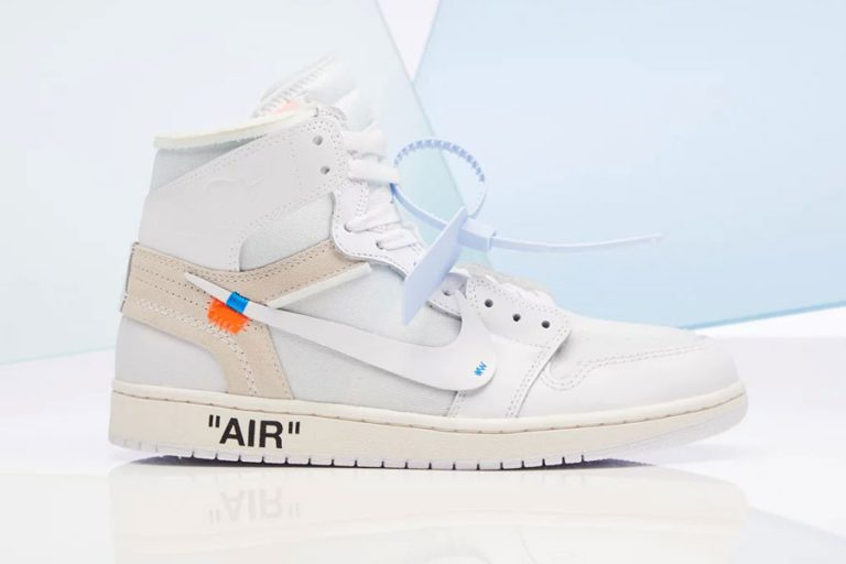 OFF-WHITE x Air Jordan 1 White (AQ0818-100)