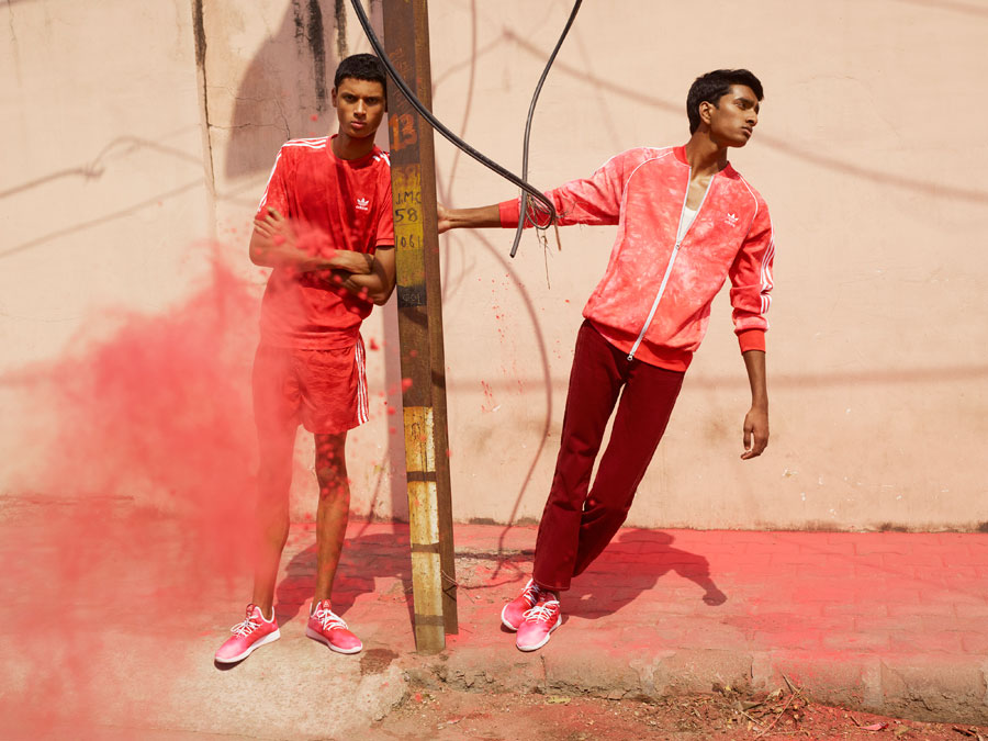 Pharrell Williams x adidas Hu Holi adicolor Collection - Red