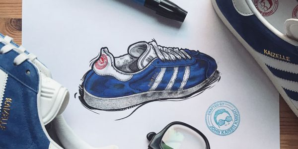 The Amazing Sneaker Illustrations of John Kaiser Knight