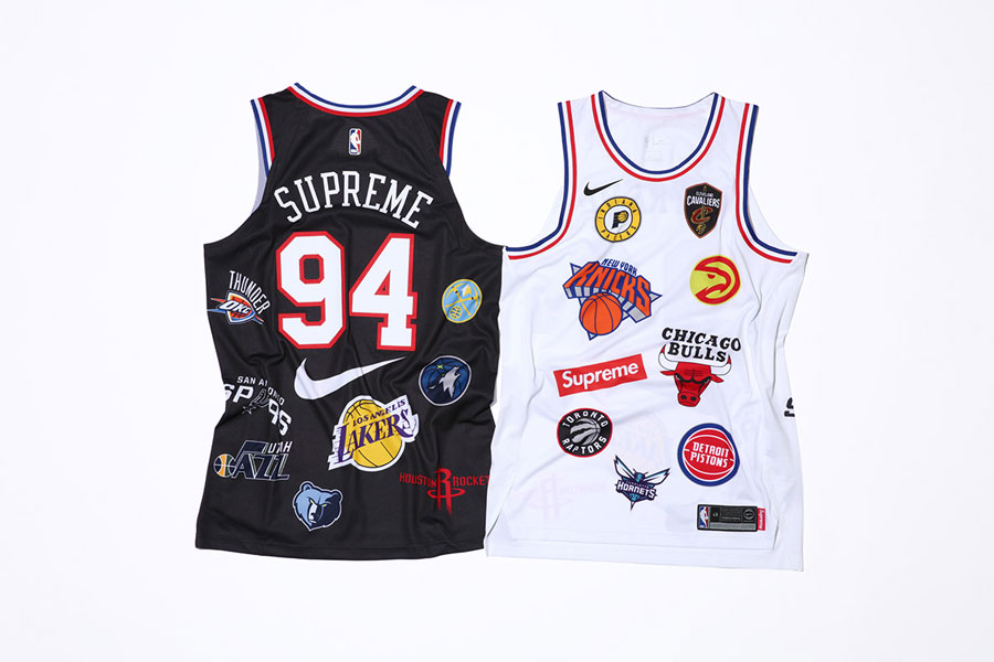 Supreme x Nike Air Force 1 Mid 07 NBA - Basketbal Jerseys